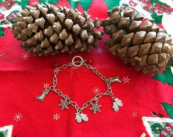 Christmas Charms Bracelet
