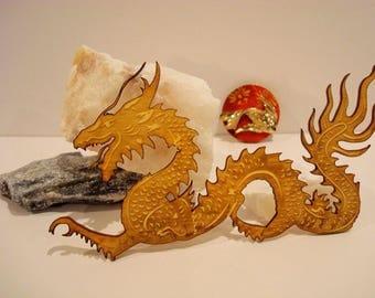 Dragon 1911 embellishment wooden creations