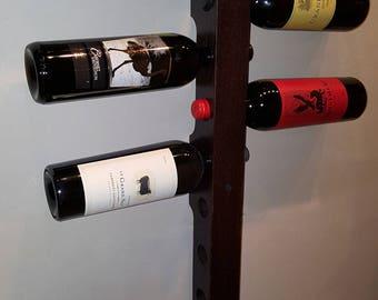 Wall Mounter Wine Bottle Holder