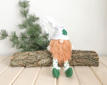 St. Patricks Day Gnome FREE SHIPPING