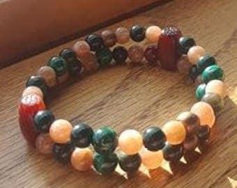 Green Sun Bracelet