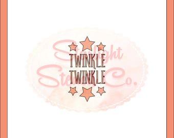 Twinkle Twinkle Stencil   Stencils For Cookies   Cake Stencils   Modern  Stencil   Cookie Decorating
