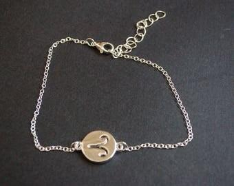 Aries zodiac symbol bracelet
