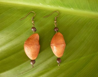 Seeds of Guyana kawaii earrings