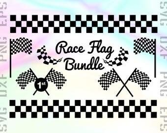 Race Flag SVG Files - Racing Dxf Files - Race Flag Clipart - Race Flag Cricut Files - Race Flag Cut Files - Race Flag Silhouette