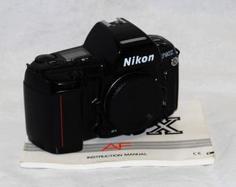 NIKON F90X 35mm Film Camera SLR Body Only With Manual