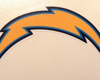 San Diego Chargers 4 inch decal vinyl sticker