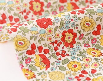 10% fabric Liberty of London-56x138cm Anjo B-yellow