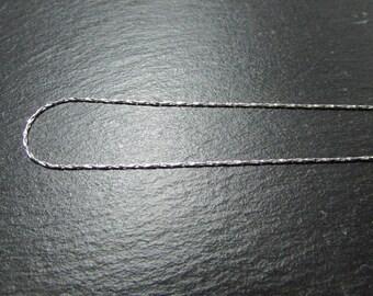 1 mesh serpentine 925 Silver necklace
