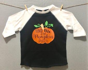 Pumpkin Patch Kids Shirt