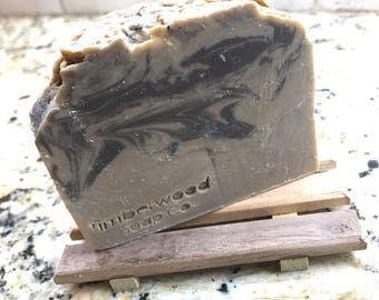 Turquoise Scented - Herbal-Infused Vegan/Palm-Free Soap with Ginseng Extract