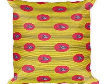 Nalunga African Inspired Wax Print Square Pillow