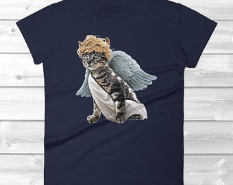 Cat Valentine Shirt / Valentine Cat Gifts / Cat Gift for Cat Lovers / Cat Gifts for Women / Cupid Cat Shirt / Valentine Cat Shirt / Cat Gift