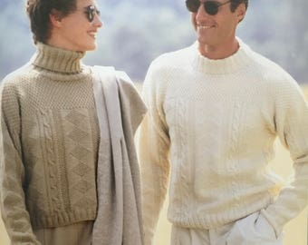 PDF Knit His-And-Hers Guernseys (EASY)