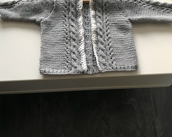 Girls Vest with Cable