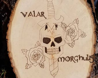 Game of thrones Valar Morghulis picture
