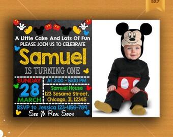 Mickey Mouse Clubhouse,  Mickey Mouse Clubhouse Invitation, Mickey Mouse Clubhouse Birthday, Mickey Mouse Party, Mickey Birthday, Mickey