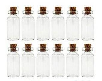 20 Tiny Bottles