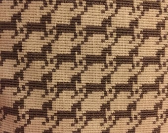 Designer Horse Houndstooth Pillow Cover Swatch