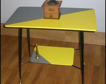 "Table on wheels ""Margie"" 60s TV"