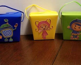 Team Umizoomi 10pc Treat box **free shipping**