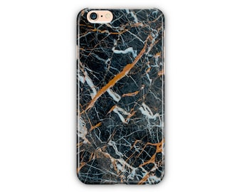 Black, Gold Marble Phone Case for iPhone 8 / iPhone 7 / 7Plus, iPhone 6/6Plus iPhone5 Samsung Galaxy S7/7 edge / S6 / S6 edge/S5