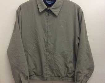 Rare! Vintage Polo By Ralph Lauren Harrington / Jacket sz Medium