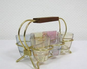 50s Brandy Glass Frame
