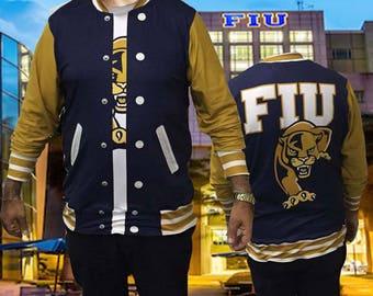 Exclusive 3D  FIU Jacket/under shirt looking