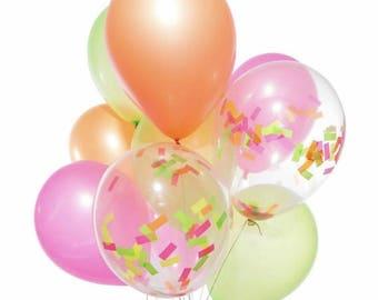 Confetti Ballons Set