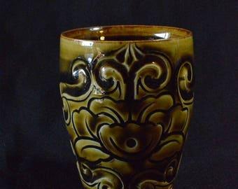 Handmade ceramic cup