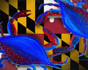Maryland Crab Print