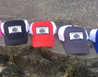 Knotty pine hats