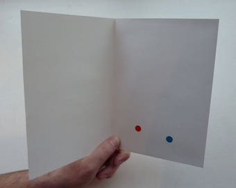 DIY Recordable Voice Blank Greeting Card - Push Button Play - 20 seconds Audio
