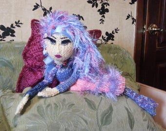 The Rainbow Fairy - Handmade Decore Doll