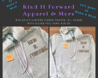Kind It Forward Fleece Hoodie