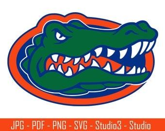 University of Florida, Gators, College Sports, Basketbal, Footballl - Cut Files - SVG, PNG, Studio - Silhouette, Cricut and More - CS049