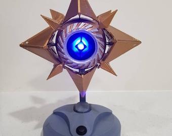 Destiny Sagira ghost model                  -prop -destiny 2 -ghost -prop -gold -led -blue
