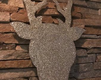 Glittering Rudolph