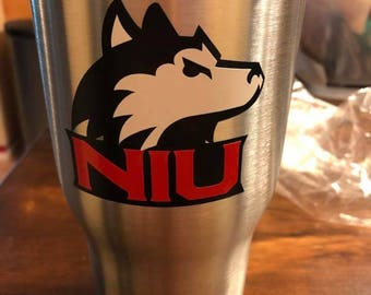 College Team 30oz RTIC insulated Tumbler or School name