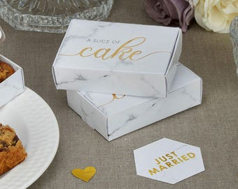 wedding cake boxes for guests cake boxes etsy 22065