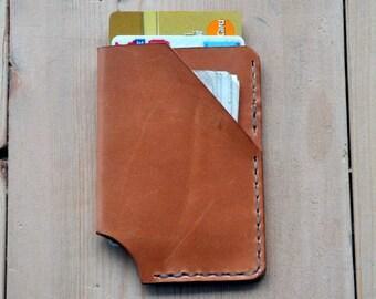 Mens Slim Wallet (Russet)