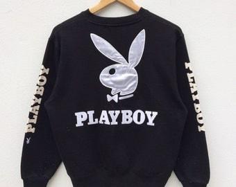 Vintage playboy big logo embroidery rare!!!