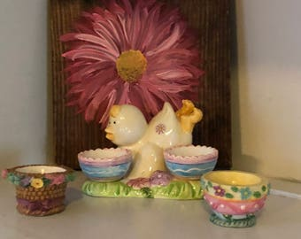 Vintage Easter egg holders