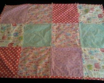 Flannel Baby Blanket, Baby Blanket, Baby Quilt,Baby Girl Blanket, Girl Blanket, Baby Girl Gift, Pink