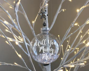 Marry me ornament  Etsy