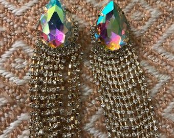 Heaven Sent Cubic Zirconia Drop Earrings