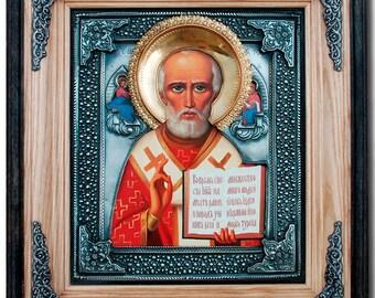Orthodox icon Saint Nicholas