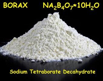 Borax UK 60g 90g 200g - Sodium Tetraborate Decahydrate - Slime