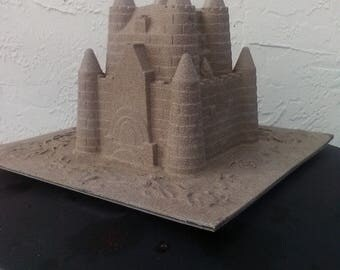 Sand Castle Table Topper / Decoration for weddings, parties
